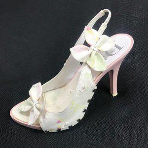 Auc Dior Monogram Vintage Diorissimo Pink Sandals